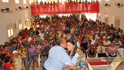 ...com Roseana, na campanha de 2010...