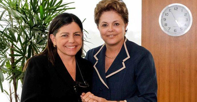 Roseana declara apoio a Dilma (imagem: Stukert Filho/Agência Brasil)