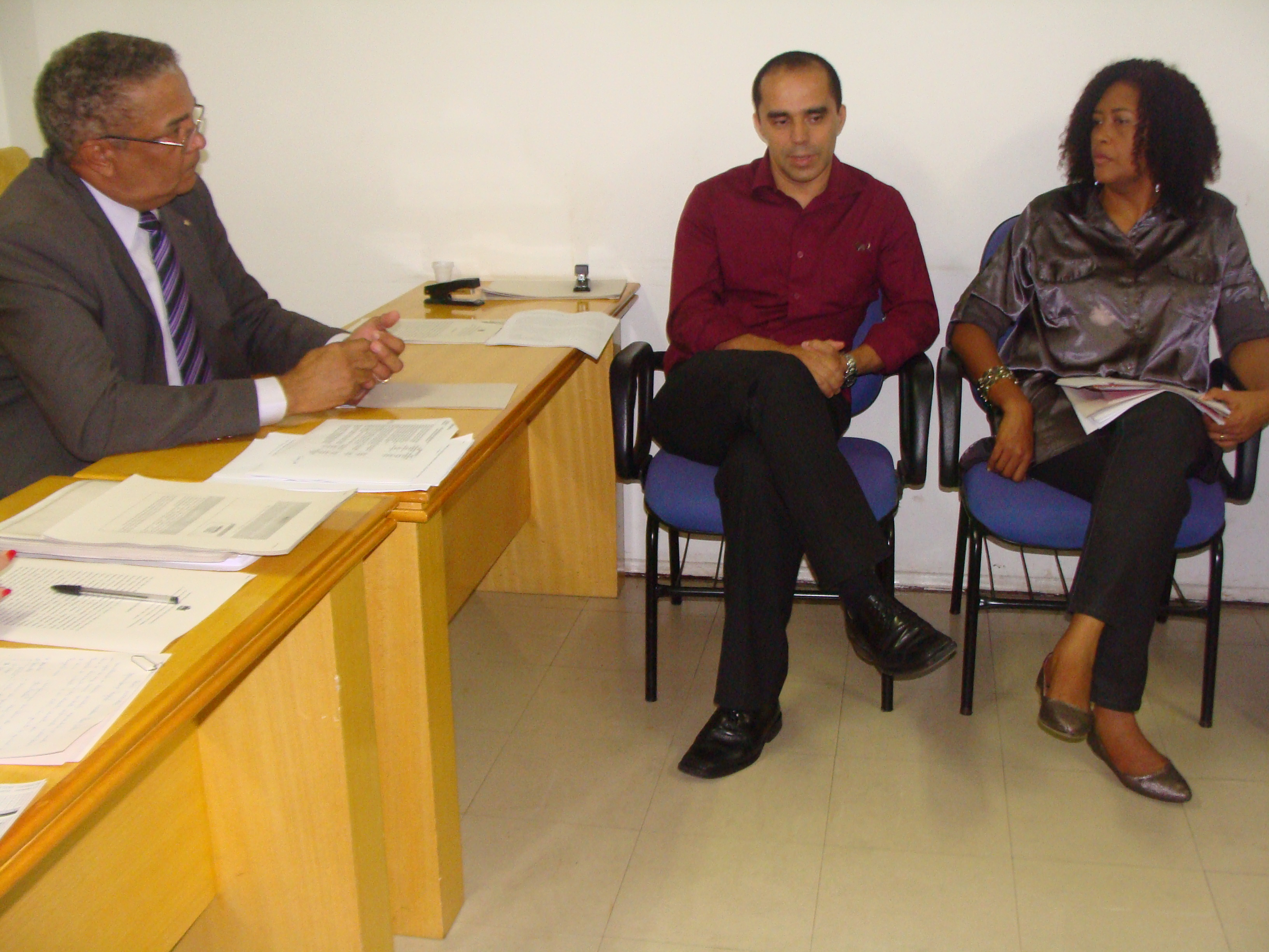 E-D Paulo Avelar, Alan Kardec e Rose Sales