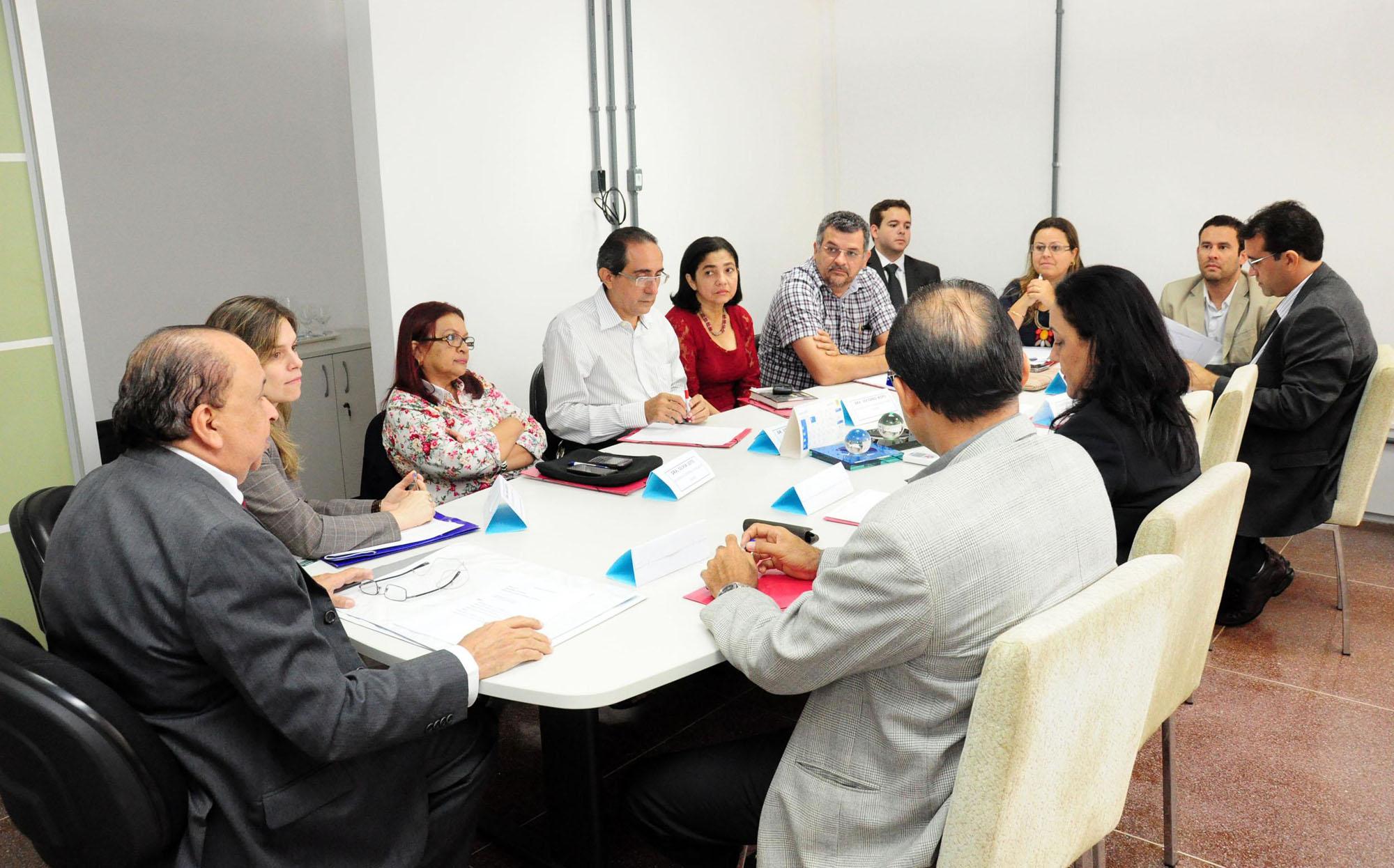 Foto 1 - Reunião SES