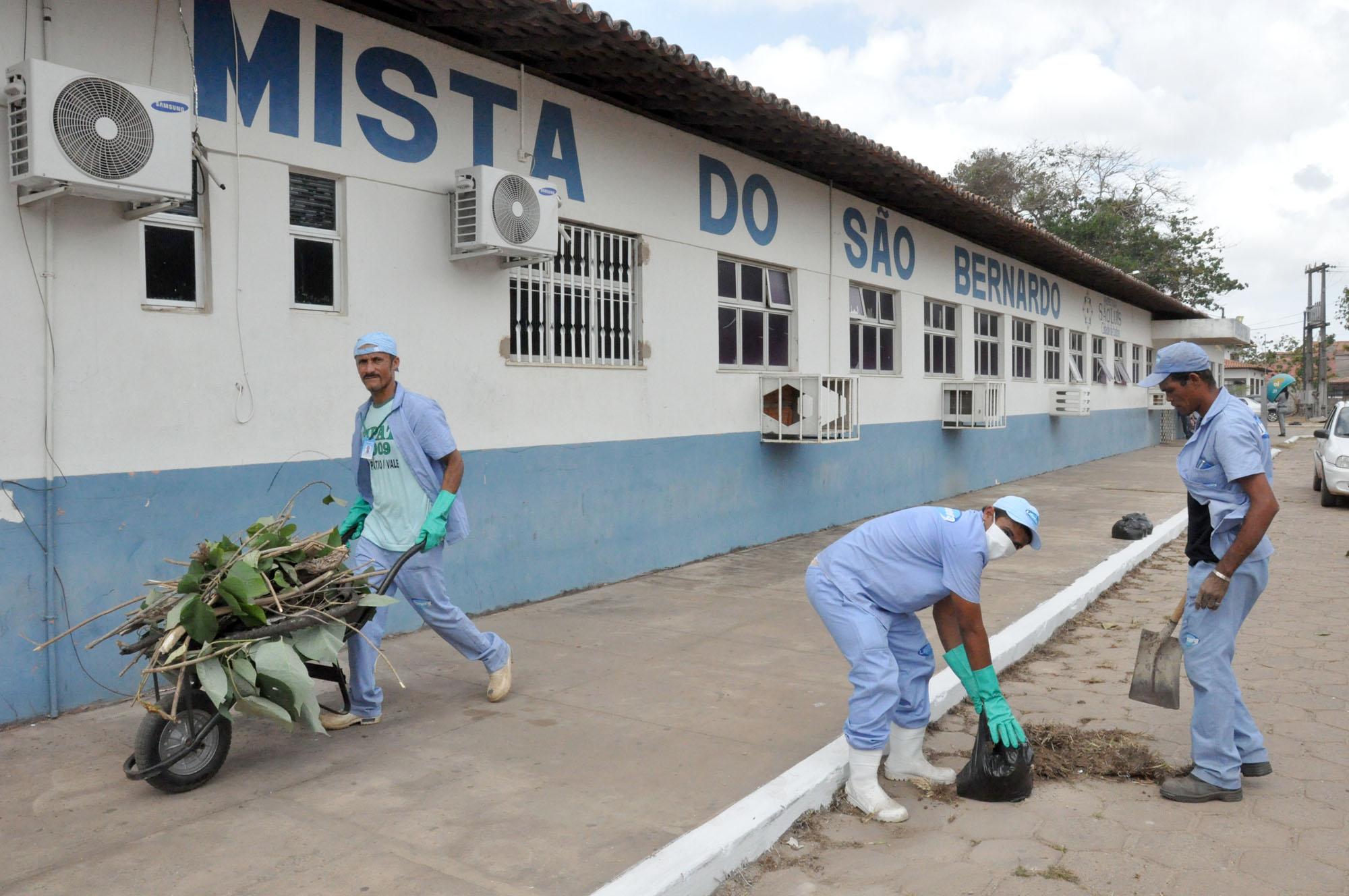 Foto 10 - DOMINGO - reestruturação de unidades municipais de saúde Unidade Mista de S. Bernardo foto Nestor Bezerra