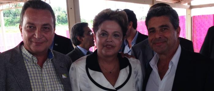 LF, Dilma e pres. da Suzano