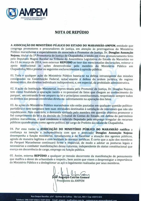 NotaRepudioMagnoBacelar