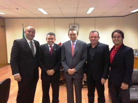 Antonio Pereira, Beto Rocha e Lobão