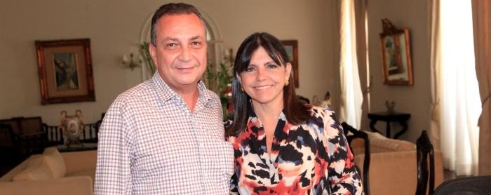 Foto 1 - Governadora Roseana e Luis Fernando   foto Handson Chagas