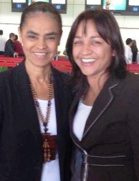 Eliane é a interlocutora de Marina no Maranhão...