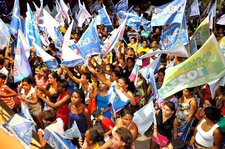 Milhares de eleitores acompanharam os eventos promovidos por Linhares