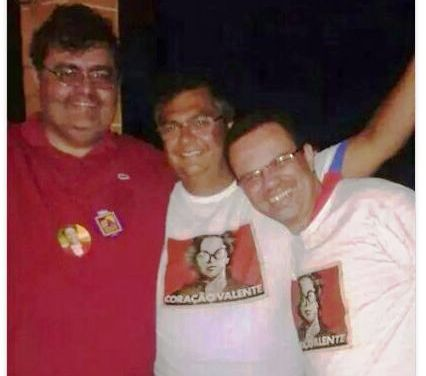 Com Macieira, ontem à noite: Dilma de última hora