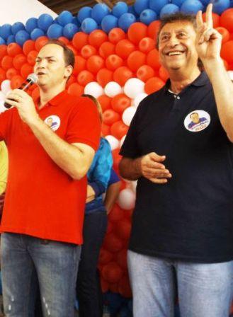 O genro Souza Neto garantiu eleição