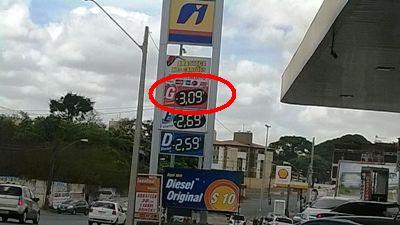 Posto no Anil: gasolina a R$ 3,09