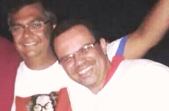 Dino e o amigo do peito Nunes: ele, e não Dedé, terá o controle do Detran