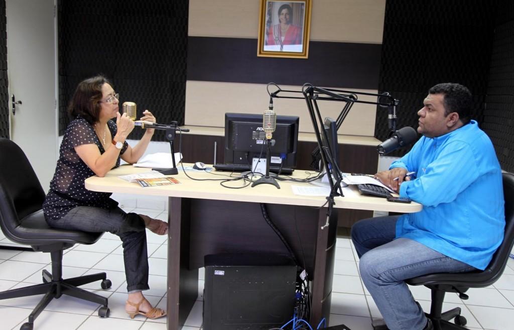 Flávio Dino e rádio Timbira