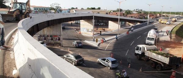 A quarto Centenário dará nova opção de tráfego na região do Monte Castelo