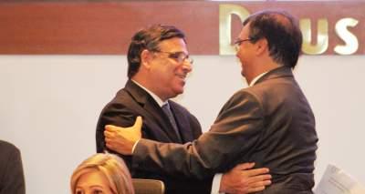 Max Barros recebe o governador Flávio Dino