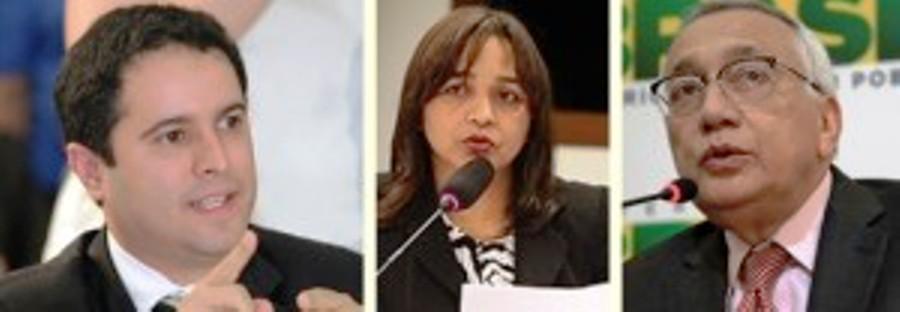 Edivaldo Jr. vai enfrentar Eliziane Gama e Gastão Vieira na corrida eleitoral em 2016