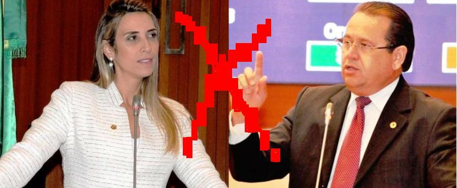 A oposicionista e o decano iniciaram ontem debate que pode se estender à semana que vem..