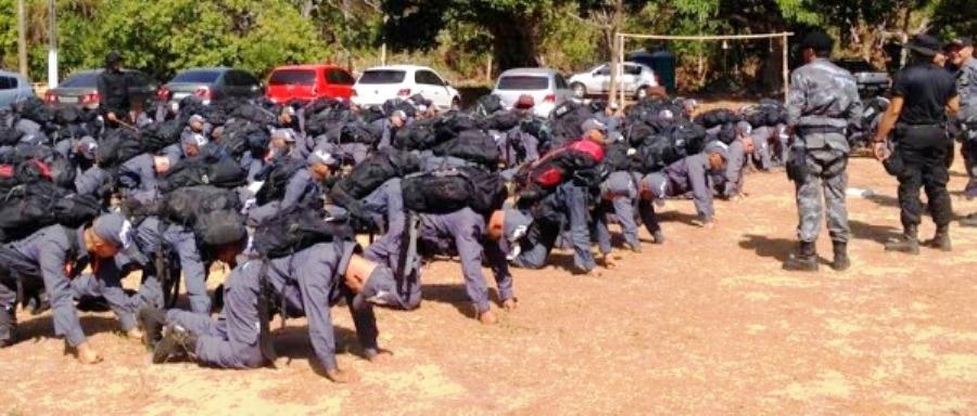 PMs treinados para exercer função nas ruas: só 162 conseguiram passar (imagem ilustrativa)