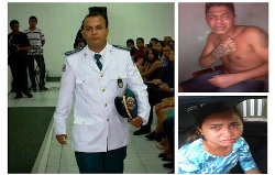 O tenente assassinado e os bandidos que o mataram