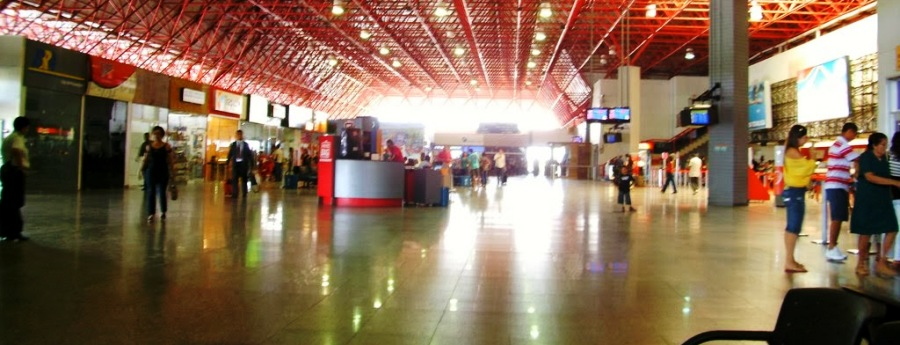 Aeroporto do Tirirical vive quase vazio, em plena festa junina