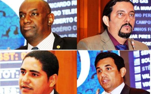 """os quatros independentes na mira do governo: """"caguetados"""""""