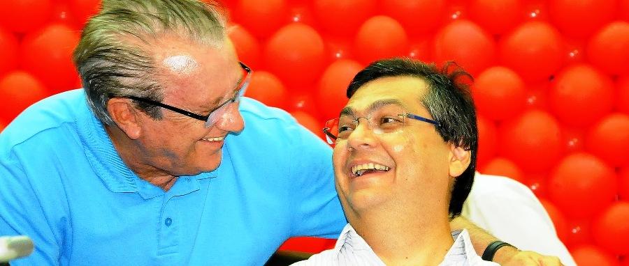 O sorridente José Reinaldo da foto, é hoje só ressentimentos de Flávio em Brasília (imagem: Felipe Klamt)