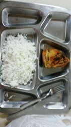 Esta é a comida servida no hospital