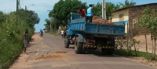 O custo do material e do transporte foi todo rateado entre os moradores