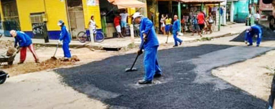 A população espera que a prefeitura continue o trabalho de recuperação de toda a avenida