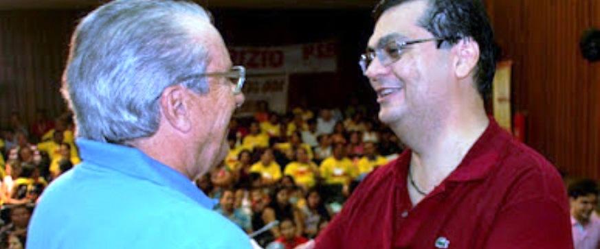 José Reinaldo quer Dino ao lado de sarney para melhorar o Maranhão