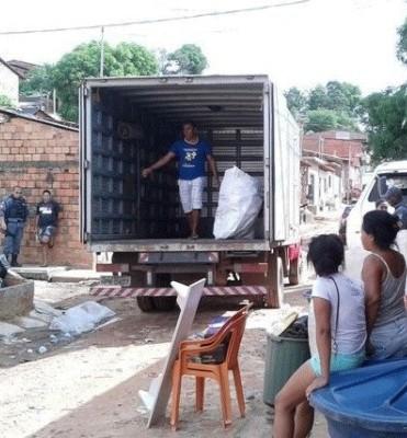 Famílias em fuga no Coroadinho: ausência do Estado