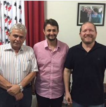 Pedro Fernandes confirmou apoio do PTB a Leonardo, via Othelino