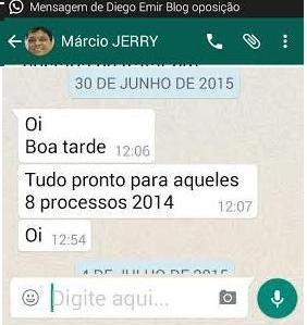 "...E Jerry confirma ""processos prontos"""