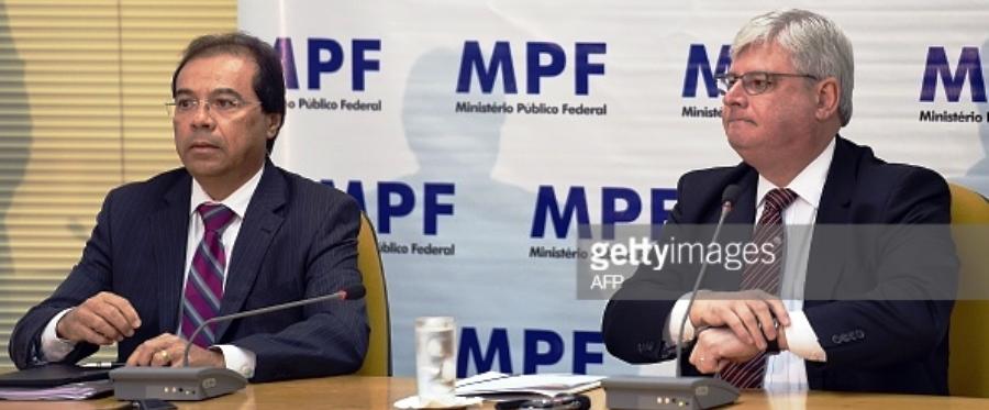 Nicolao Dino com Rodrigo Janot: por que só um governador divulgado?