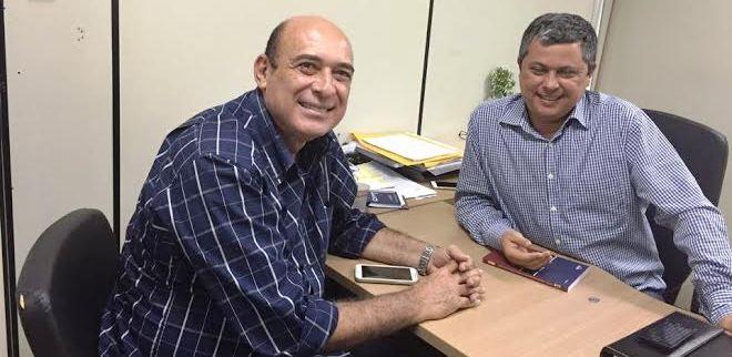 Ribamar Alves com Edinaldo Neves,d a Sinfra