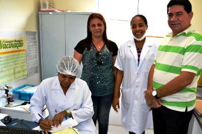 Alan Linhares visitou uma das unidades reformadas