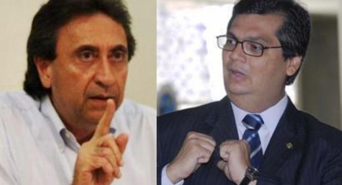 Ricardo versus Dino: estruturas balançam de lado a lado