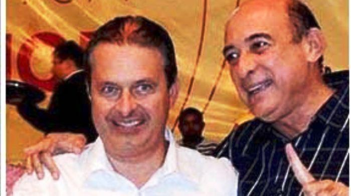 O ex-candidato a presidente com o prefeito Ribamar Alves