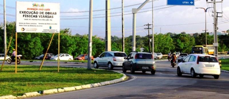 No Bacanga, o trânsito agora é livre para qualquer lado