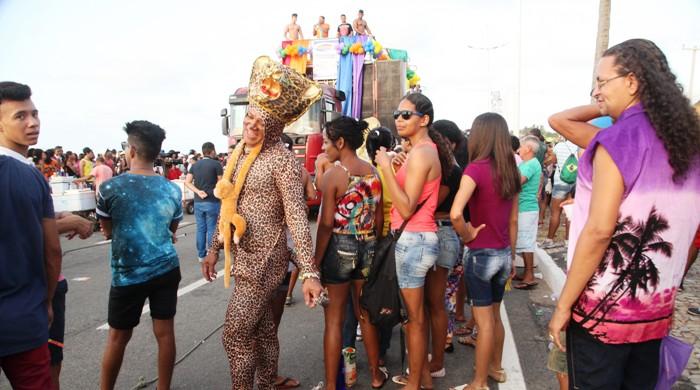 Participante da Parada Gay, domingo, 22, em São Luís: respeito à diversidade