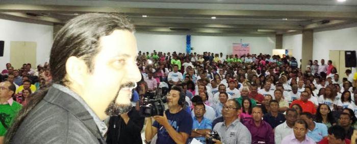 Evento mobilizou centenas de militantes do PRB