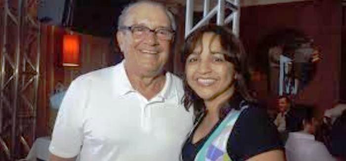 José Reinaldo com Eliziane: lutadora, define ele