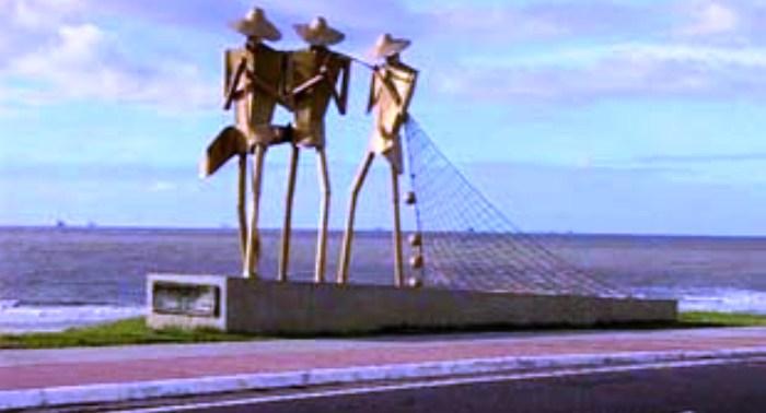 Praça dos pescadores, cartão postal da capital maranhense
