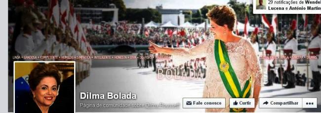 Perfis fakes, como o Dilma Bolada, são aceitos normalmente no facebook