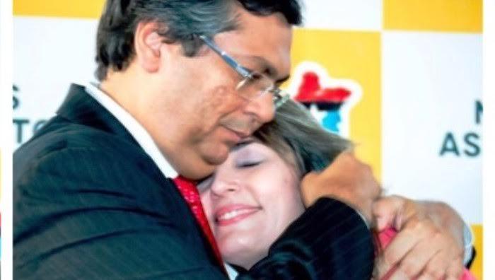 Flávio e Simone: a proteção do governador é o deleite da ex-auxiliar