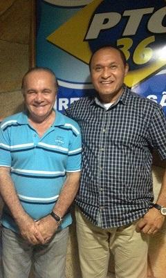 Eivaldo e Lima: apoio aos candidatos