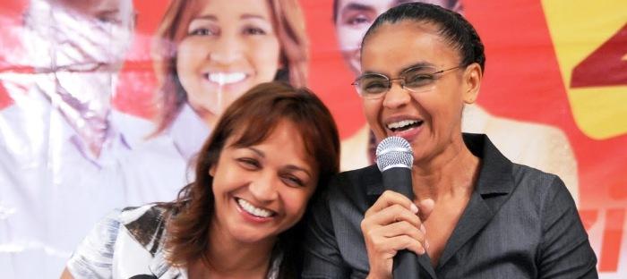 Eliziane é a mais próxima aliada de Marina Silva no Maranhão