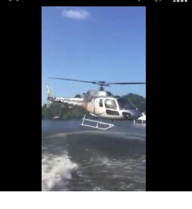 Manobra foi feita para resgatar banhista