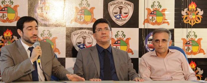 Portela e os delegados da Seic: militante partidário e servidores apenas preocupados com a estabilidade profissional, sem contrariar o chefe