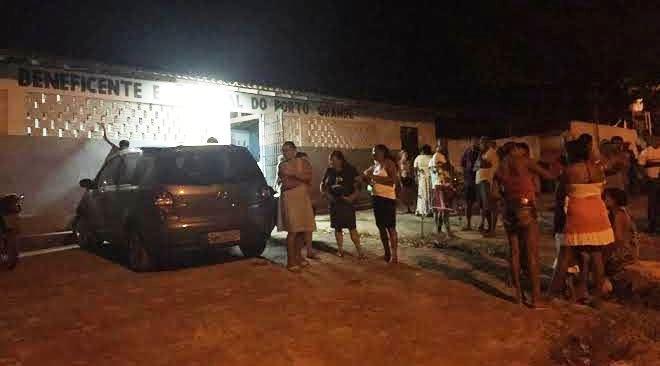 ...Frustrados, os moradores tiveram que voltar pra casa sem perspectivas