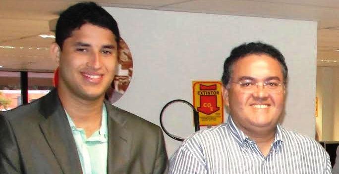 Rocha Júnior também teve cheque encontrato com Pacova, o pai Roberto deu pressão e o caso também foi deixado pra lá